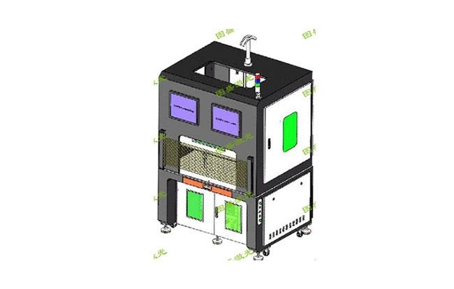 四轴双工位精密加工系统